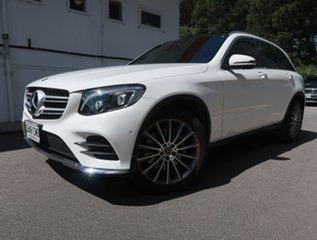 2019 Mercedes-Benz GLC-Class X253 809MY GLC200 9G-Tronic White 9 Speed Sports Automatic Wagon.