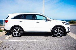 2016 Kia Sorento UM MY17 SLi AWD White 6 Speed Sports Automatic Wagon.