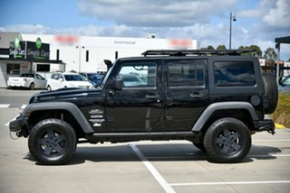 2011 Jeep Wrangler JK MY2012 Unlimited Sport Black 5 Speed Automatic Softtop