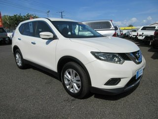 2015 Nissan X-Trail T32 ST  X-tronic Pearl White 6 Speed Constant Variable Wagon.