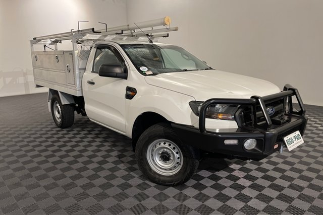 Used Ford Ranger PX MkII XL Acacia Ridge, 2015 Ford Ranger PX MkII XL White 6 speed Automatic Cab Chassis