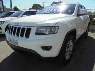 2013 Jeep Grand Cherokee WK MY2014 Laredo 4x2 White 8 Speed Sports Automatic Wagon.