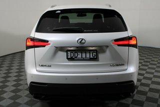 2015 Lexus NX AGZ15R NX200t AWD F Sport White 6 Speed Sports Automatic Wagon