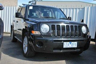 2010 Jeep Patriot MK MY09 Sport Black 5 Speed Manual Wagon