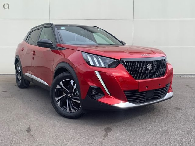 New Peugeot 2008 P24 MY21 GT Cardiff, 2021 Peugeot 2008 P24 MY21 GT Elixir Red 6 Speed Sports Automatic Wagon