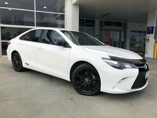 Used Toyota Camry ASV50R RZ Melton, 2017 Toyota Camry ASV50R RZ White 6 Speed Sports Automatic Sedan