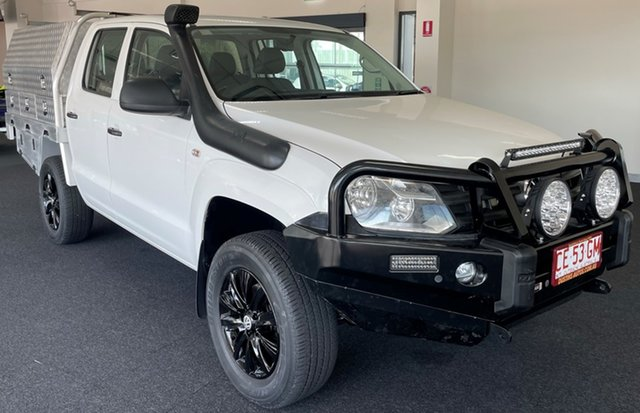 Used Volkswagen Amarok 2H MY16 TDI420 4MOTION Perm Core Winnellie, 2015 Volkswagen Amarok 2H MY16 TDI420 4MOTION Perm Core White 8 Speed Automatic Cab Chassis