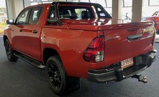 2020 Toyota Hilux GUN126R Rogue Double Cab Orange 6 Speed Sports Automatic Utility
