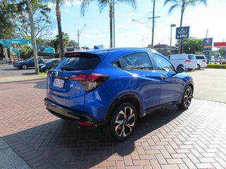 2021 Honda HR-V MY21 RS Brilliant Sporty Blue Continuous Variable Wagon.