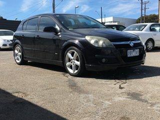 2007 Holden Astra AH MY07 SRi Black 4 Speed Automatic Hatchback.