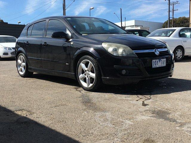Used Holden Astra AH MY07 SRi Blair Athol, 2007 Holden Astra AH MY07 SRi Black 4 Speed Automatic Hatchback