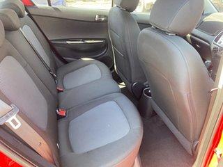 2013 Hyundai i20 PB MY13 Active Red 6 Speed Manual Hatchback