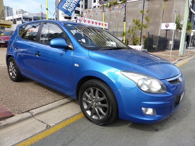 Used Hyundai i30 FD MY11 SX Southport, 2011 Hyundai i30 FD MY11 SX Blue 4 Speed Automatic Hatchback