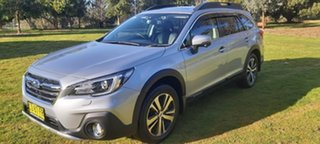 2017 Subaru Outback B6A MY18 2.5i CVT AWD Premium Silver 7 Speed Constant Variable Wagon.