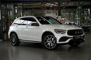 2019 Mercedes-Benz GLC-Class X253 800MY GLC300 9G-Tronic 4MATIC White 9 Speed Sports Automatic Wagon.