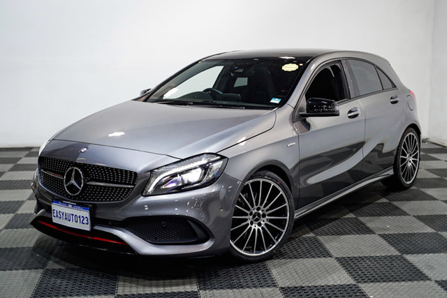 Used Mercedes-Benz A-Class W176 806MY A250 D-CT 4MATIC Sport Edgewater, 2016 Mercedes-Benz A-Class W176 806MY A250 D-CT 4MATIC Sport Grey 7 Speed