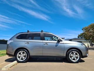 2013 Mitsubishi Outlander ZJ MY13 LS 2WD Silver 6 Speed Constant Variable Wagon.