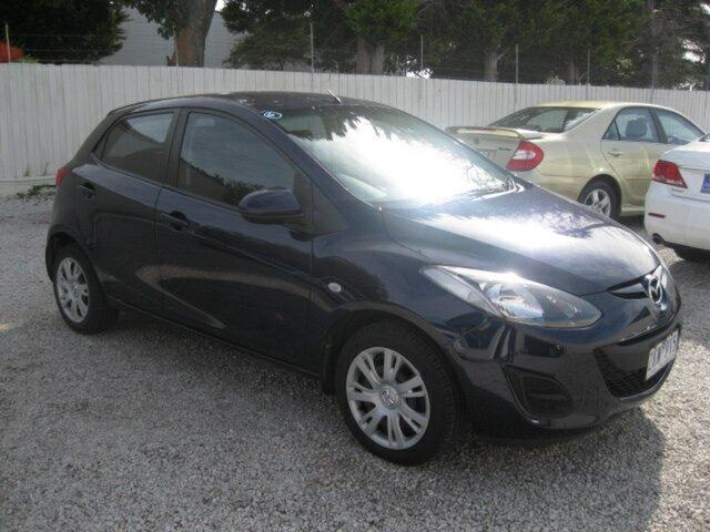 Used Mazda 2 DE10Y2 MY13 Neo Seaford, 2012 Mazda 2 DE10Y2 MY13 Neo Blue 4 Speed Automatic Hatchback