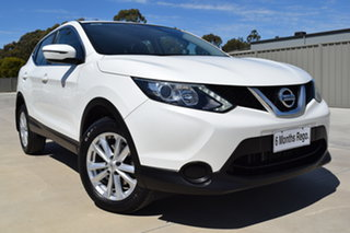 2016 Nissan Qashqai J11 ST White Pearl 1 Speed Continuous Variable Transmission Wagon.