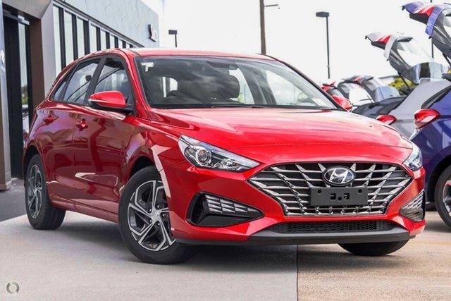New Hyundai i30 PD.V4 MY22 Nailsworth, 2021 Hyundai i30 PD.V4 MY22 Fiery Red 6 Speed Sports Automatic Hatchback