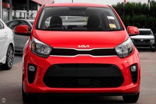2021 Kia Picanto JA MY22 S Red 4 Speed Automatic Hatchback.