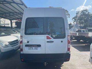 2013 Renault Master X62 MWB White 6 Speed Manual Van.