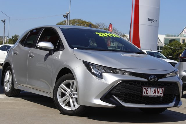 Used Toyota Corolla Mzea12R Ascent Sport Albion, 2020 Toyota Corolla Mzea12R Ascent Sport Silver Pearl 10 Speed Constant Variable Hatchback