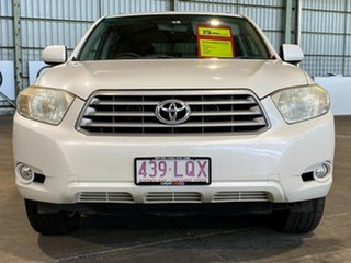 2009 Toyota Kluger GSU40R Altitude 2WD White 5 Speed Sports Automatic Wagon