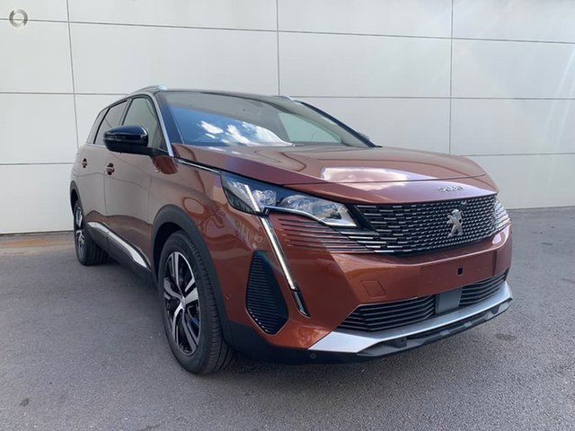 New Peugeot 5008 P87 MY21 GT Cardiff, 2021 Peugeot 5008 P87 MY21 GT Metallic Copper 6 Speed Automatic Wagon