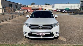 2012 Toyota Kluger GSU45R MY11 Upgrade KX-S (4x4) White 5 Speed Automatic Wagon