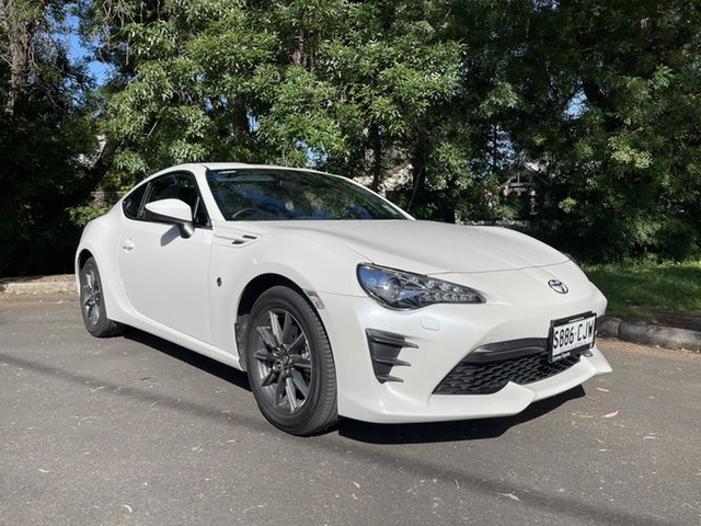 Demo Toyota 86 ZN6 GT Hawthorn, 2021 Toyota 86 ZN6 GT White Liquid 6 Speed Sports Automatic Coupe