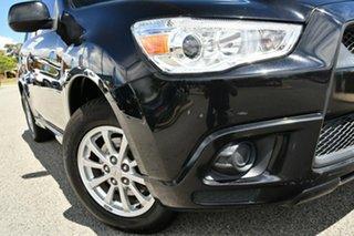 2011 Mitsubishi ASX XA MY11 2WD Black 5 Speed Manual Wagon.