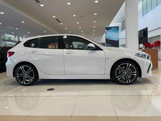 2021 BMW 1 Series F40 118i DCT Steptronic M Sport Alpine White 7 Speed Sports Automatic Dual Clutch.