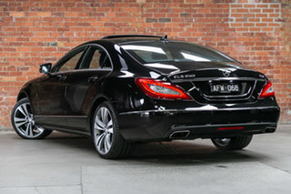 2015 Mercedes-Benz CLS-Class C218 806MY CLS250 d Coupe 7G-Tronic + Black 7 Speed Sports Automatic.
