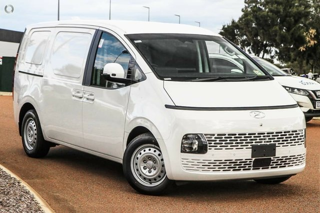 New Hyundai Staria-Load US4.V1 MY22 Nailsworth, 2021 Hyundai Staria-Load US4.V1 MY22 Creamy White 8 Speed Sports Automatic Van