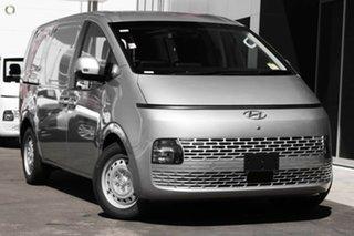 2021 Hyundai Staria-Load US4.V1 MY22 Shimmering Silver 8 Speed Sports Automatic Van.