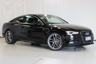 2016 Audi A5 8T MY16 S Line Plus Multitronic Black 8 Speed Constant Variable Coupe.