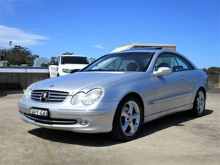 2003 Mercedes-Benz CLK-Class C209 CLK240 Elegance Silver 5 Speed Automatic Coupe