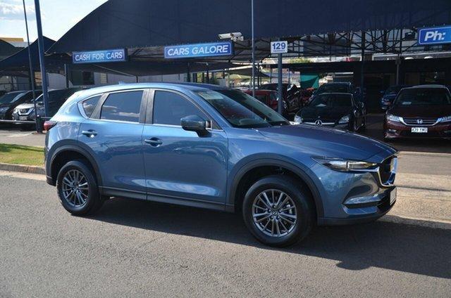 Used Mazda CX-5 CX5K Maxx Sport (FWD) Toowoomba, 2021 Mazda CX-5 CX5K Maxx Sport (FWD) Blue 6 Speed Automatic Wagon