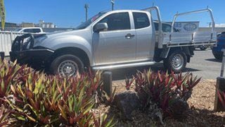 2014 Isuzu D-MAX MY15 SX Space Cab Silver 5 Speed Manual Cab Chassis.