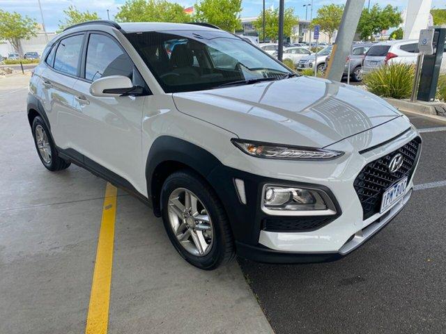 Used Hyundai Kona OS.2 MY19 Active 2WD Essendon Fields, 2019 Hyundai Kona OS.2 MY19 Active 2WD White 6 Speed Sports Automatic Wagon
