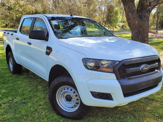 Used Ford Ranger PX MkII XL Wodonga, 2017 Ford Ranger PX MkII XL White 6 Speed Sports Automatic Utility