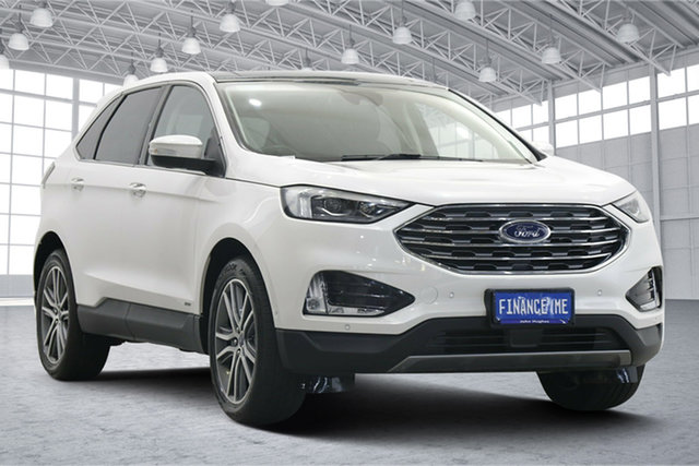 Used Ford Endura CA 2019MY ST-Line Victoria Park, 2019 Ford Endura CA 2019MY ST-Line Oxford White 8 Speed Sports Automatic Wagon