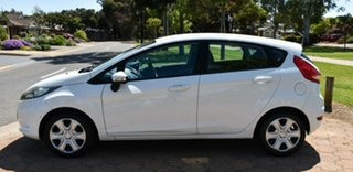 2009 Ford Fiesta WS CL White 4 Speed Automatic Hatchback