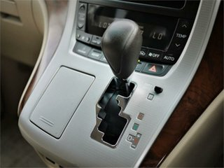 2008 Toyota Alphard ANH20W 240X White Constant Variable Van Wagon