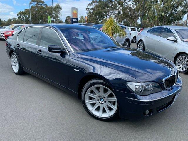 Used BMW 7 Series E66 750Li Steptronic Bunbury, 2005 BMW 7 Series E66 750Li Steptronic Blue 6 Speed Sports Automatic Sedan