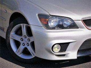 1999 Toyota Altezza SXE10 RS200 Silver 6 Speed Manual Sedan.