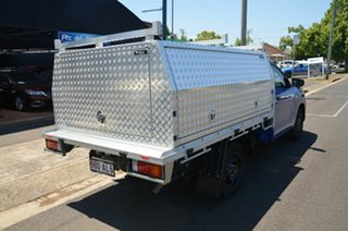 2020 Toyota Hilux TGN121R Facelift Workmate Blue 6 Speed Automatic Cab Chassis.