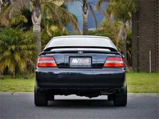 1997 Toyota Chaser JZX100 Tourer V Green 4 Speed Automatic Sedan