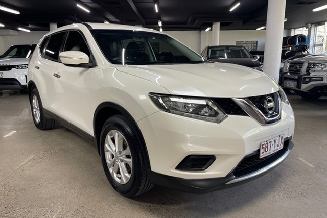 Used Nissan X-Trail T32 ST X-tronic 2WD Albion, 2015 Nissan X-Trail T32 ST X-tronic 2WD White 7 Speed Constant Variable Wagon
